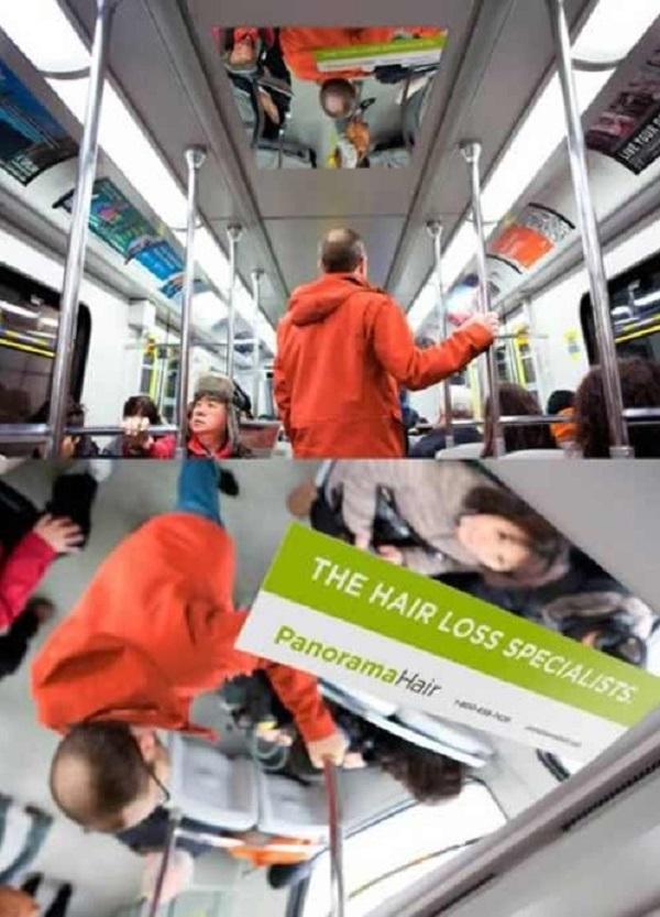 quảng cáo ngoài trời độc đáo