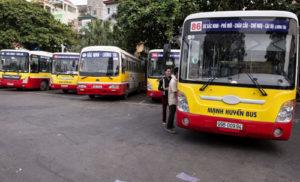 quang cao tren xe bus tai bac ninh
