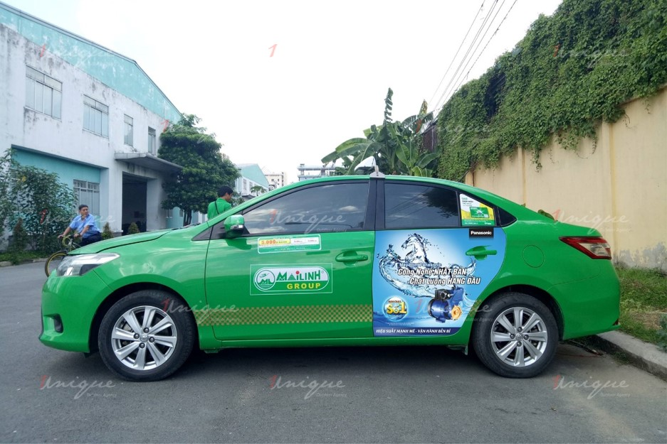 quảng cáo trên taxi tại tỉnh Cao Bằng