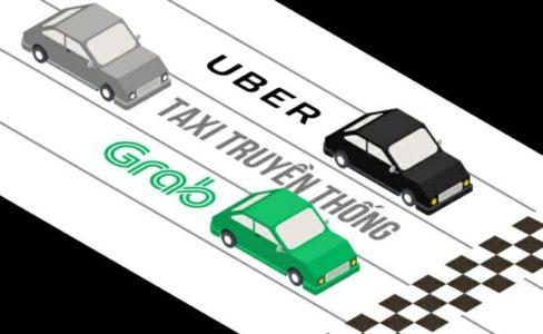 Quảng cáo ô tô Grab Uber