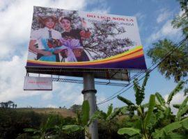 quảng cáo biển tấm lớn pano billboard