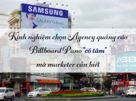 agency quảng cáo pano billboard