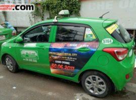 Dự án quảng cáo trên xe taxi của Dream Games