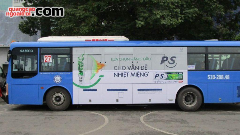 dán quảng cáo tràn kính trên xe bus hồ chí minh