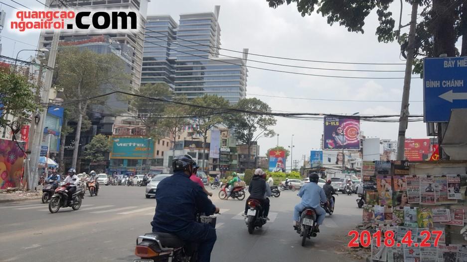 pano quảng cáo của nước gạo morning rice
