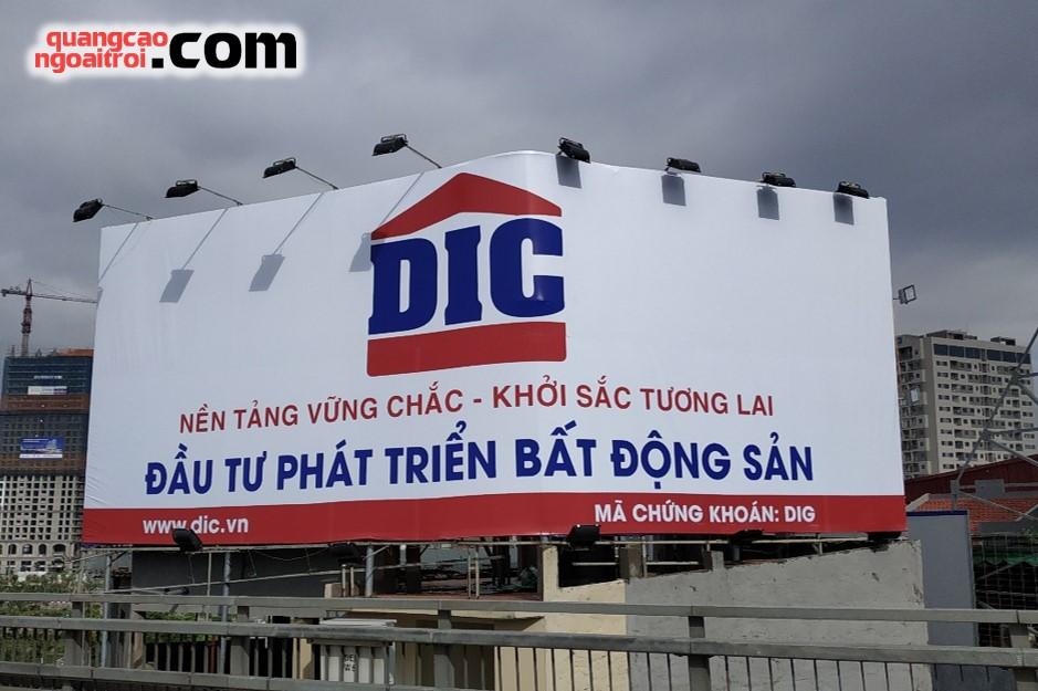 pano quảng cáo của DIC