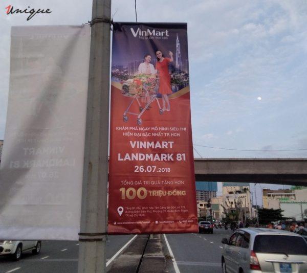 vinmart treo banner quảng cáo