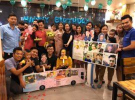 Unique tổ chức sinh nhật bất ngờ cho sếp Phạm Ngọc Linh