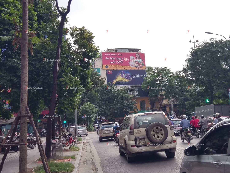 Pano quảng cáo tại 110 Bà Triệu, Nguyễn Du, Hai Bà Trưng, Hà Nội