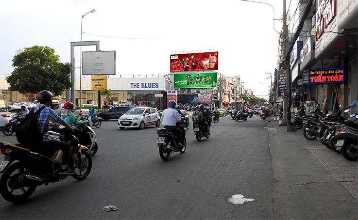 pano quảng cáo Hùng Vương Đà Nẵng