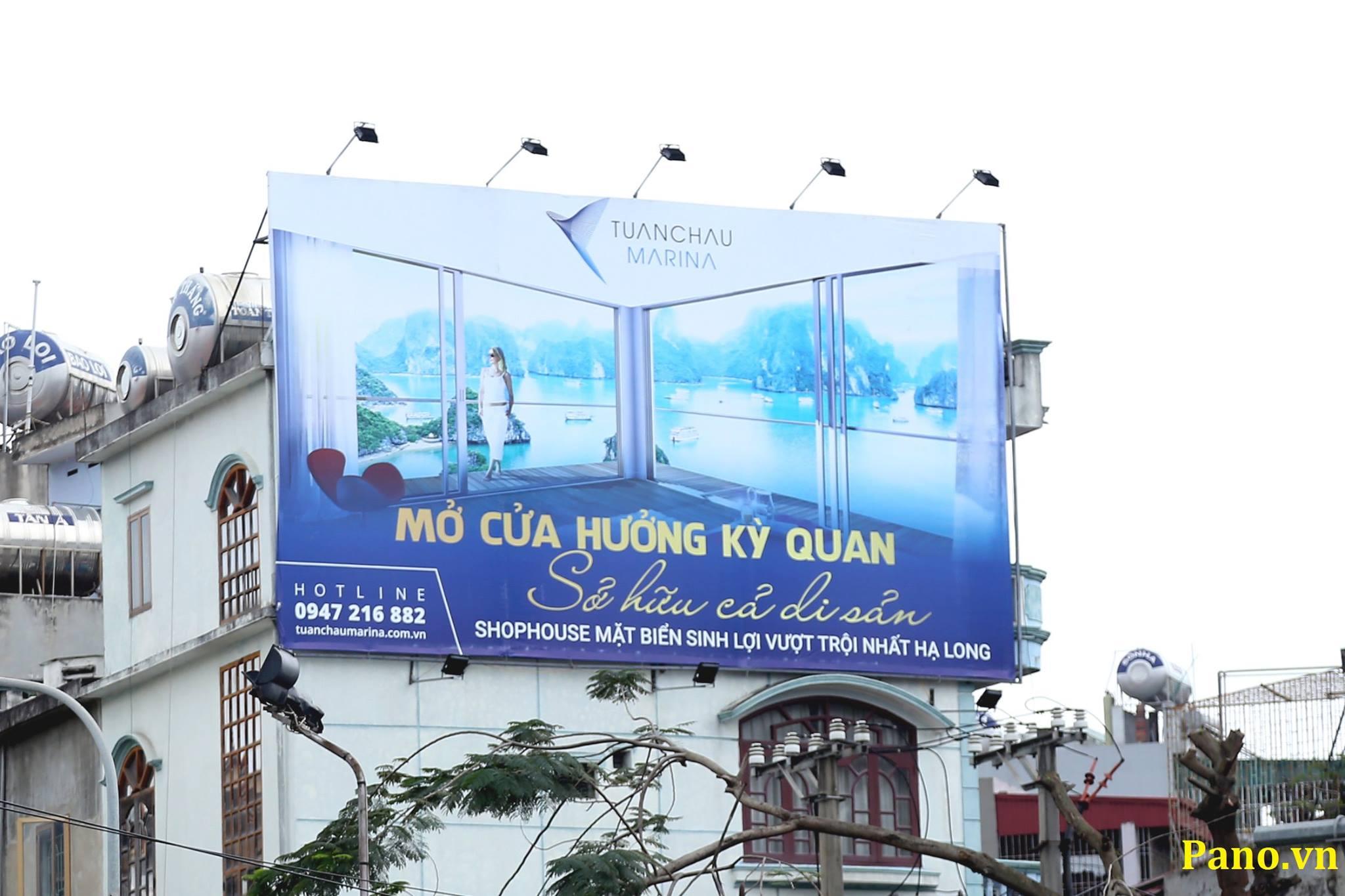 Pano quảng cáo Tuần Châu Marina
