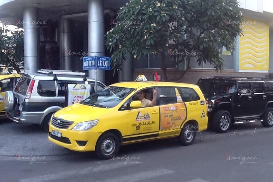 quảng cáo trên taxi tại tỉnh Ninh Thuận