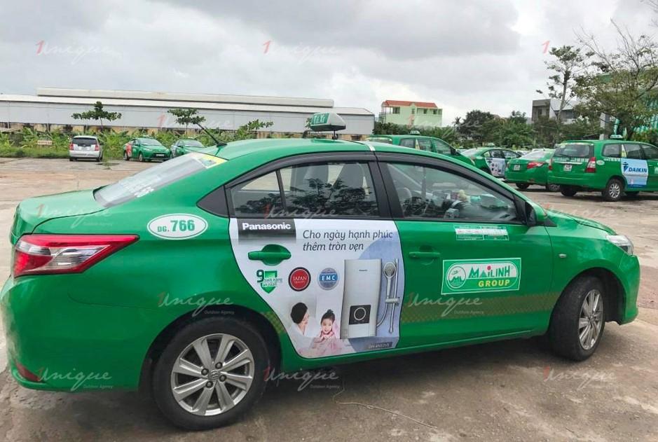 quảng cáo trên taxi tại tỉnh Lạng Sơn