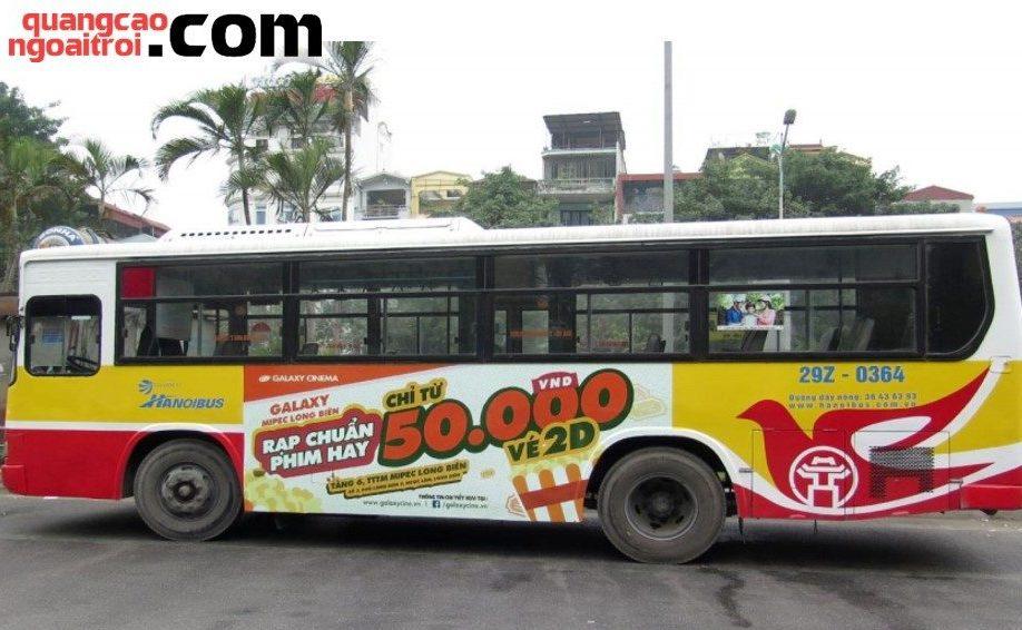 quảng cáo xe buýt