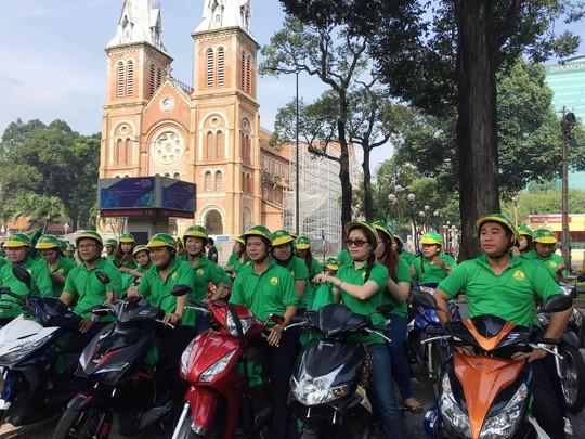 Xe ôm công nghệ Mai Linh bike