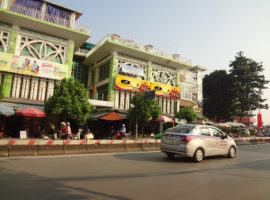 quảng cáo biển chợ Ashimi