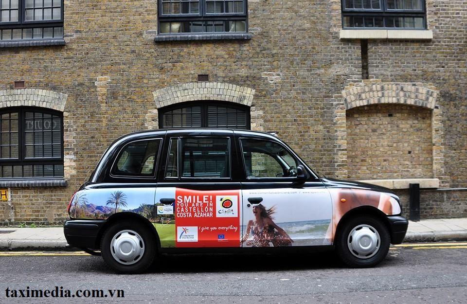 quảng cáo taxi là gì