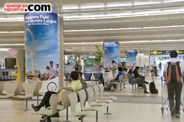 quảng cáo led tại sân bay