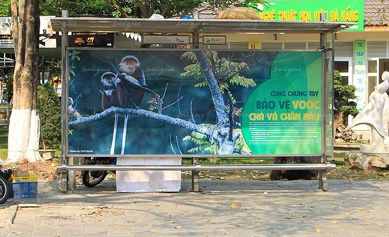 Quảng cáo nhà chờ xe buýt tại Đà Nẵng