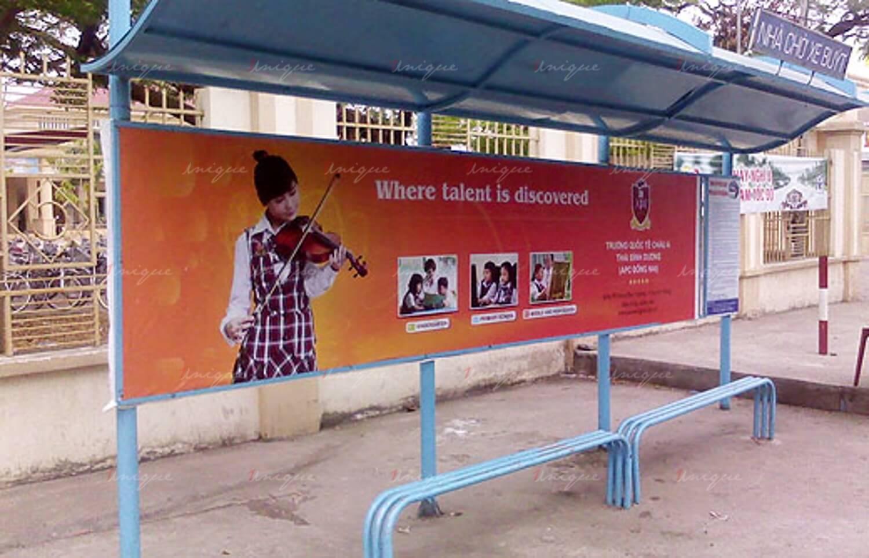 Quảng cáo nhà chờ xe buýt tại TP. Hồ Chí Minh