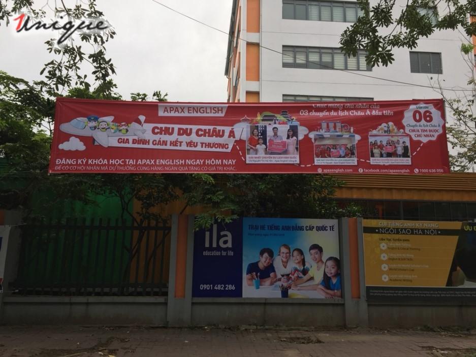 banner quảng cáo ngoài trời