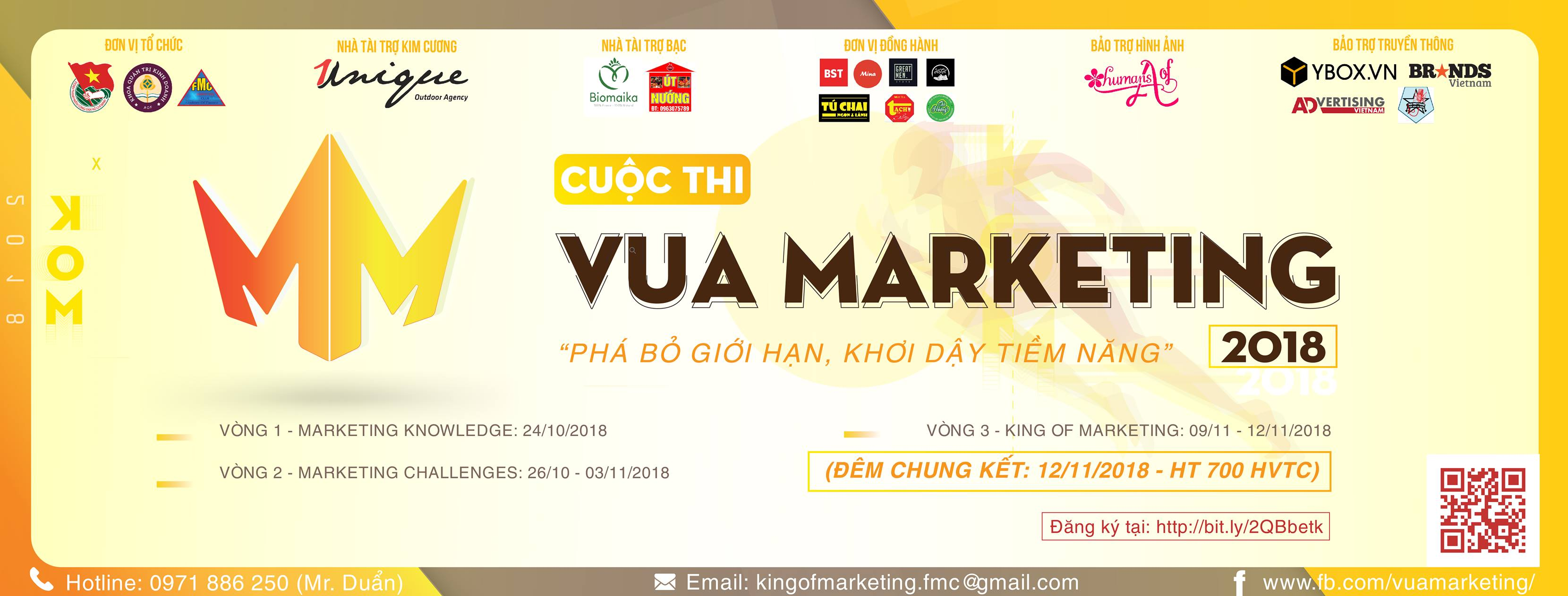 unique đồng hành cùng vua marketing