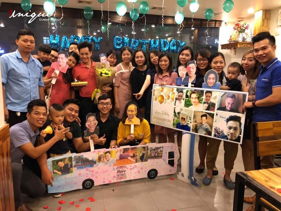Sinh nhật của sếp Phạm Ngọc Linh