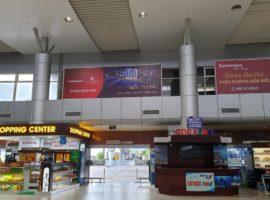 quảng cáo lightbox tại sân bay