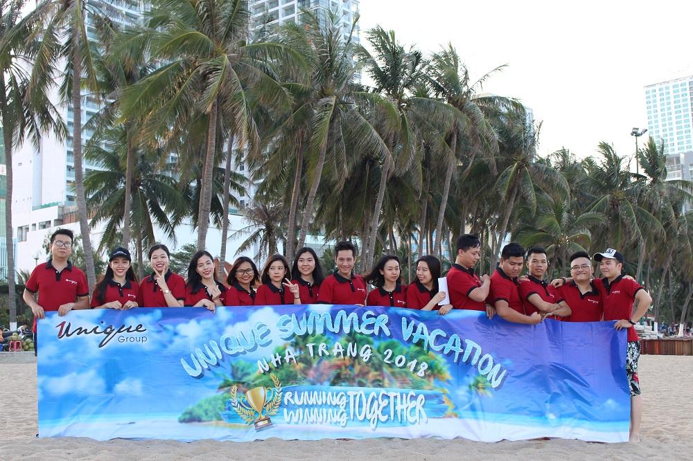 Đội ngũ nhân sự của Unique Outdoor Agency