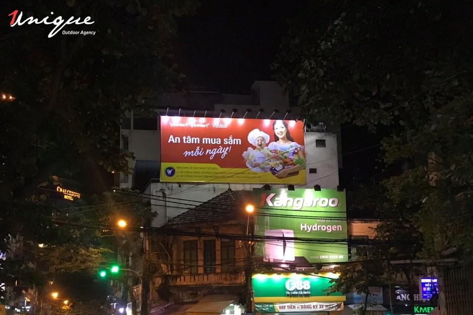 quảng cáo pano cho vinmart