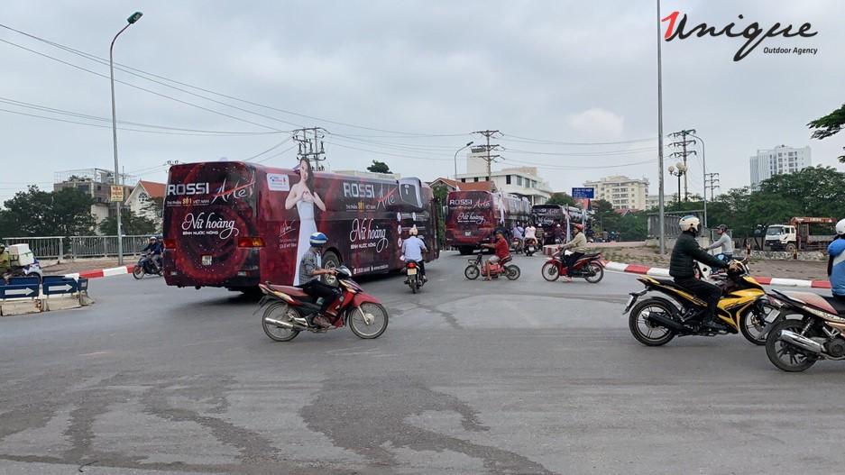 quảng cáo roadshow cho rossi