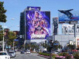 billboard quảng cáo quảng bá bom tấn Avengers Endgame