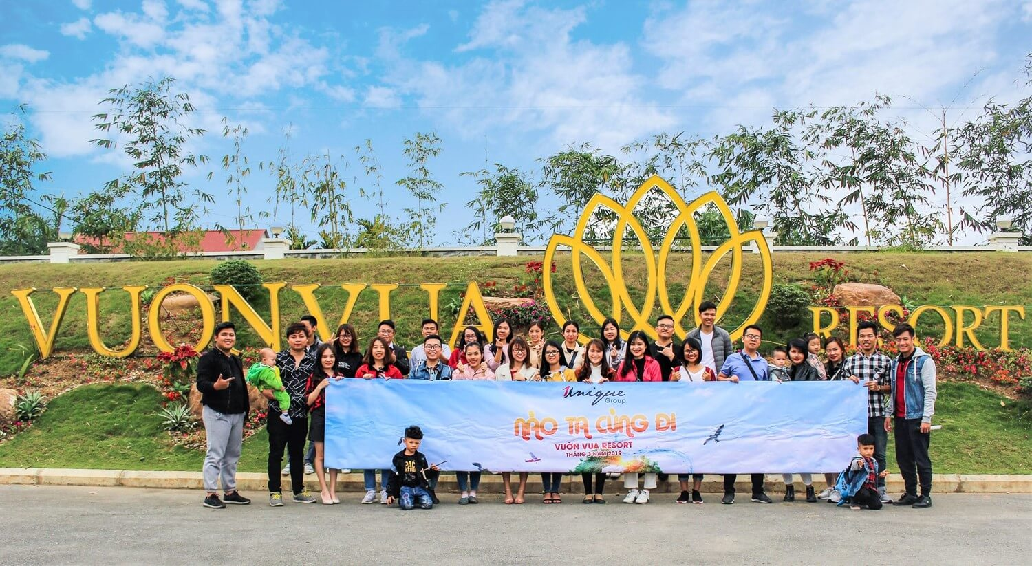 Unique Company Outing Vườn Vua Resort