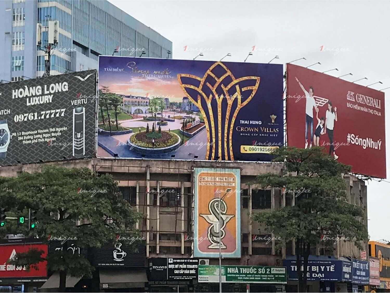 Ấn tượng với Pano quảng cáo ngoài trời của Bất động sản Crown Villas