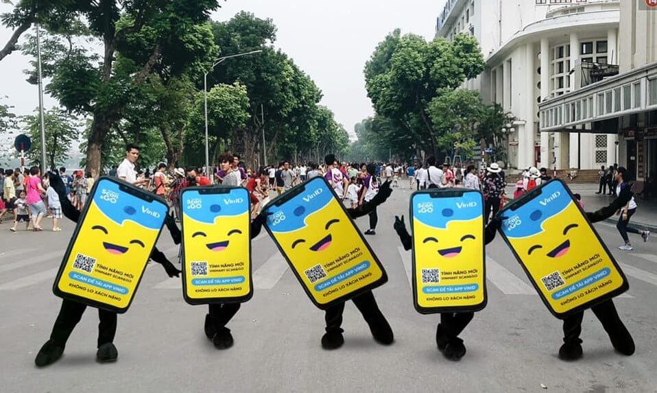 dịch vụ quảng cáo human billboard