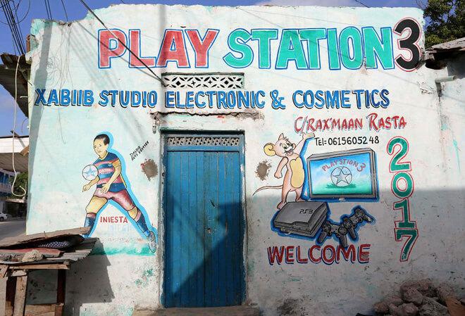 quảng cáo ngoài trời tại Somali