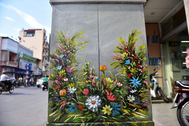 sắc mùa hà nội hoa và phố