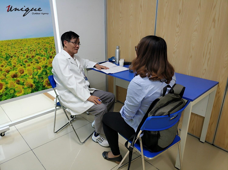 unique khám sức khỏe định kỳ cho cán bộ nhân viên