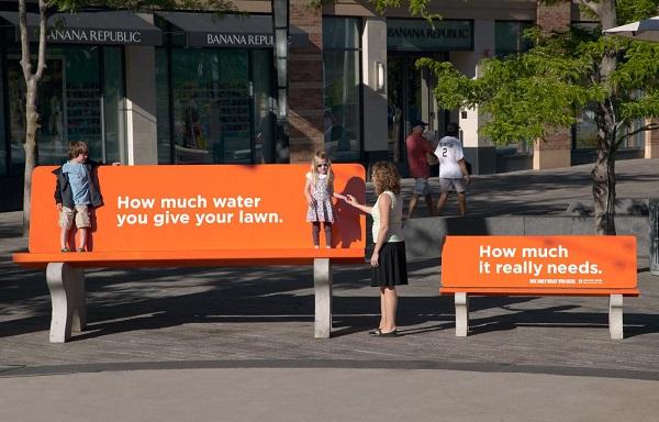 OOH campaing chỉ sử dụng những gì bạn cần của Denver Water