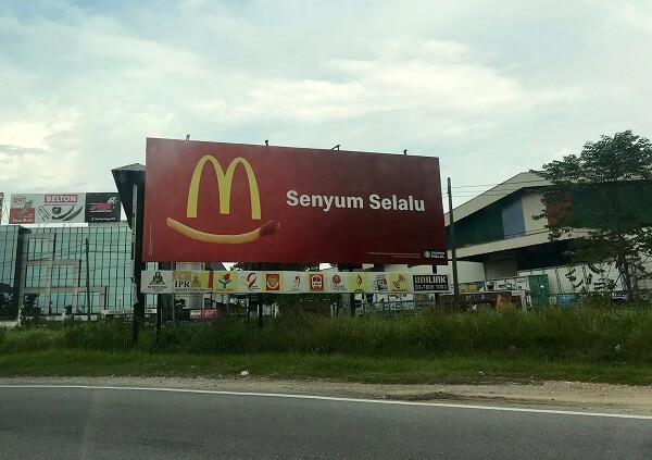 McDonald's Malaysia quảng cáo ngoài trời sáng tạo