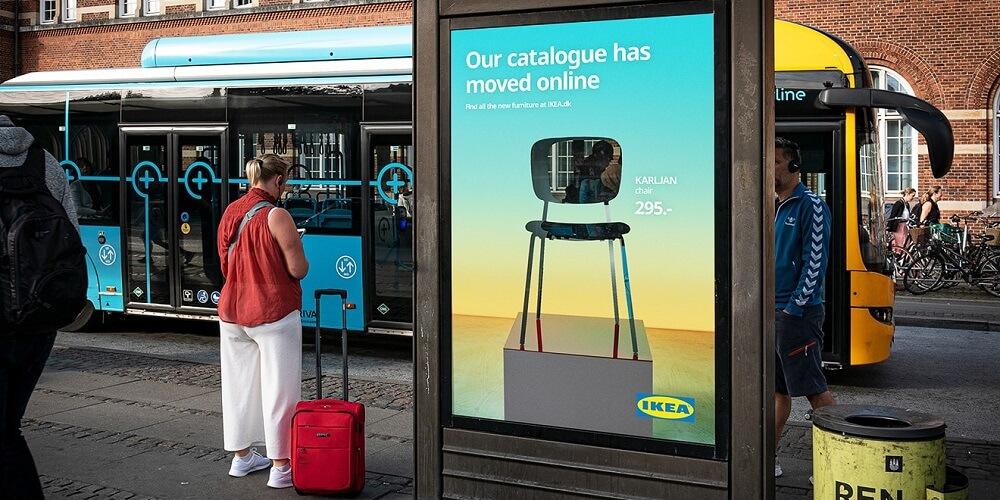 IKEA quảng cáo ngoài trời