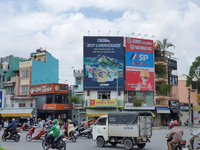 quảng cáo Pano cho dầu nhớt Sonaimex