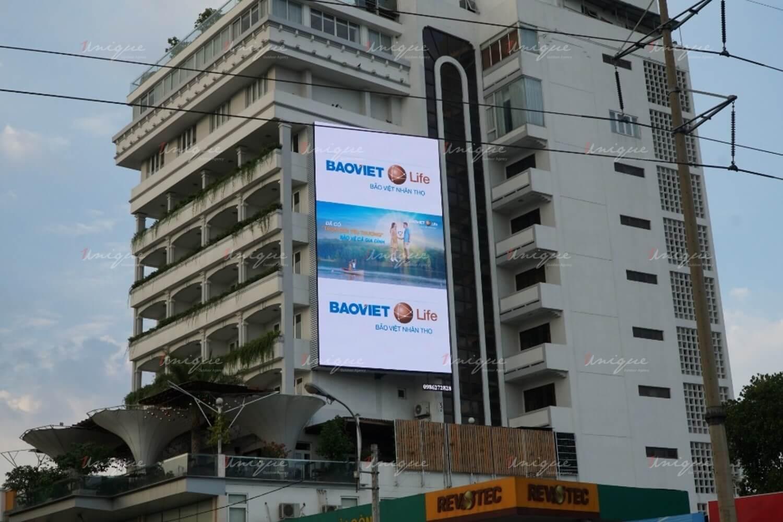 Bảo Việt Life quảng cáo ngoài trời