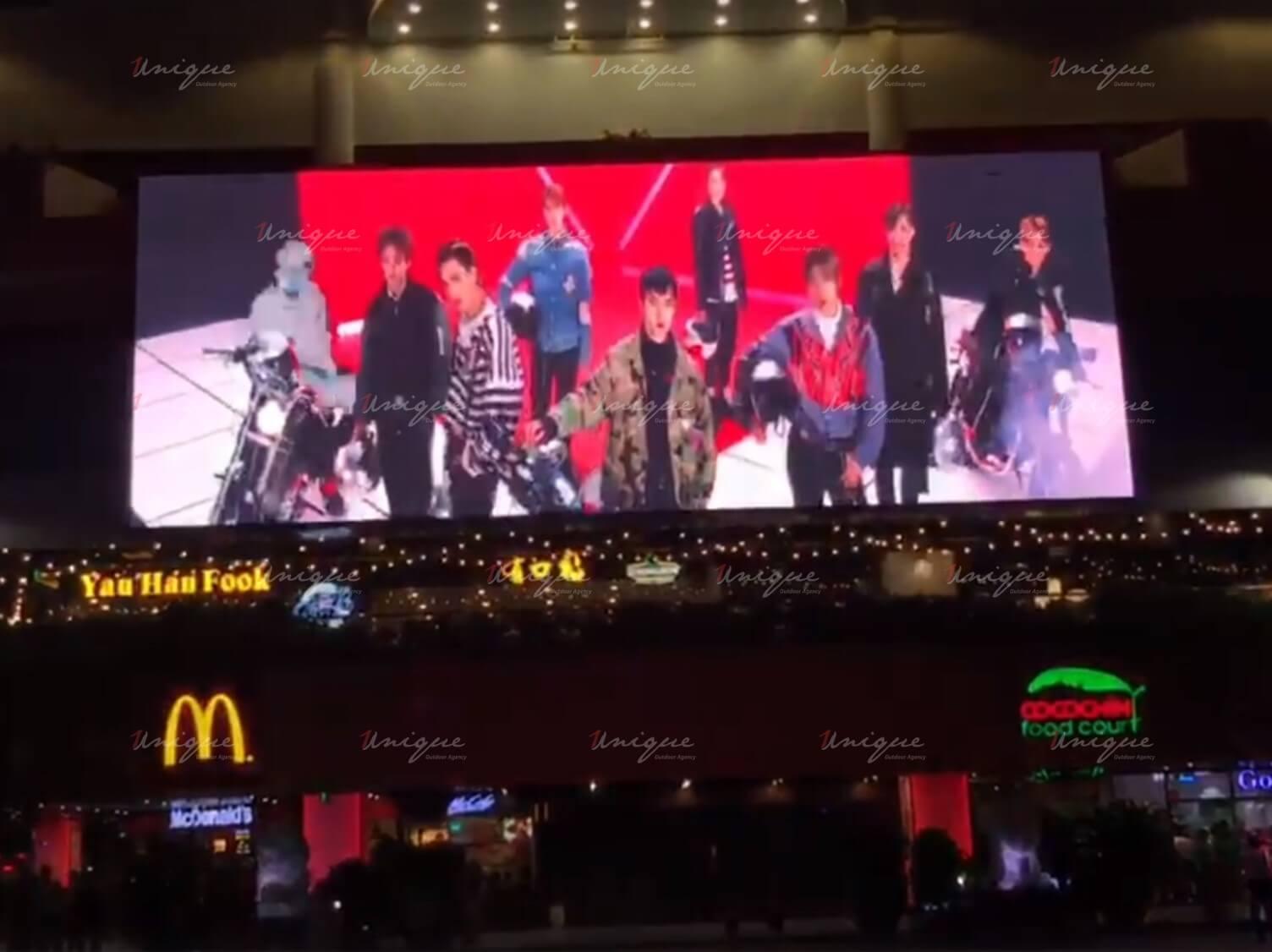 EXO quảng cáo màn hình led ngoài trời