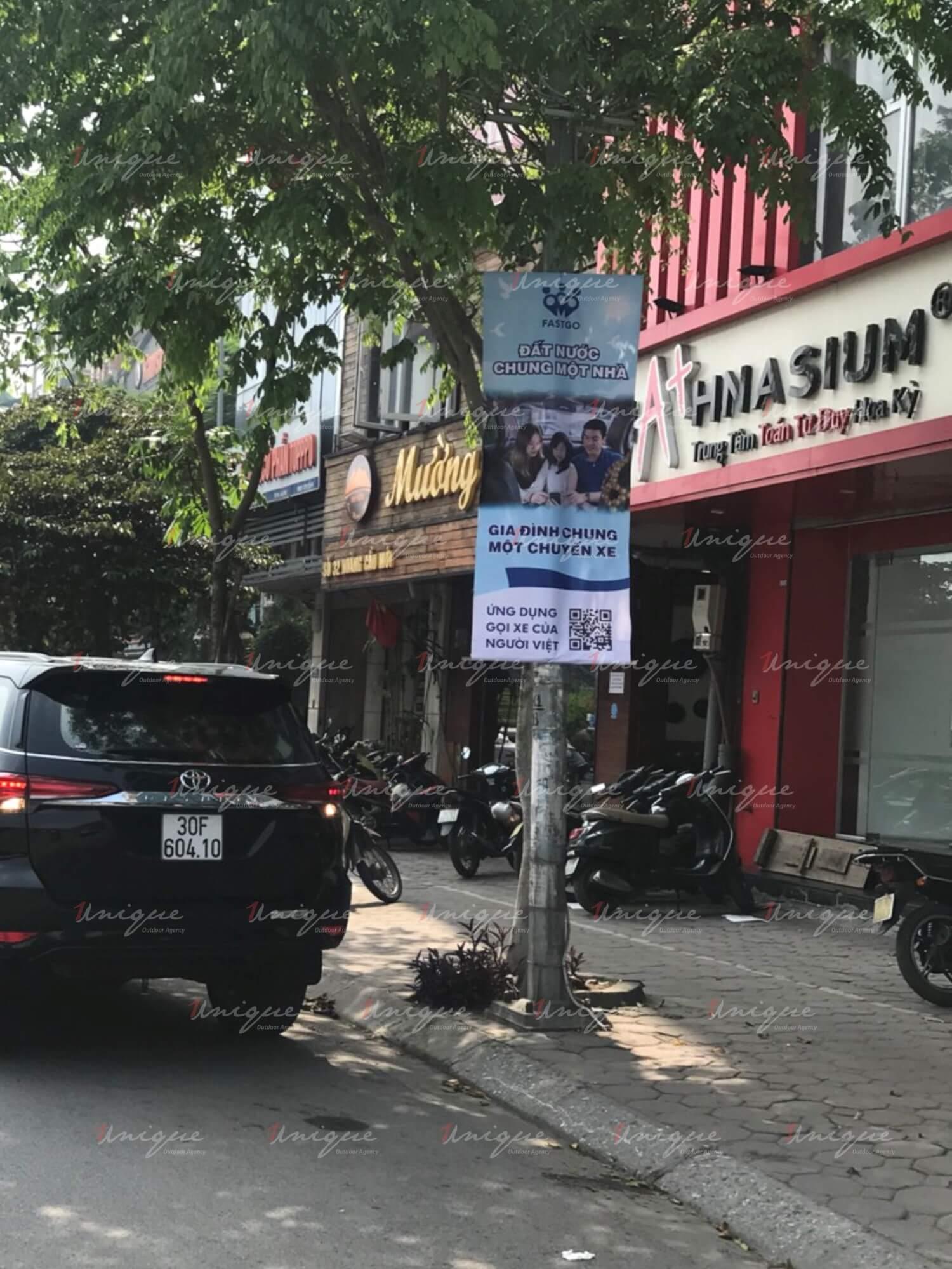 Chiến dịch quảng cáo Banner của FastGo