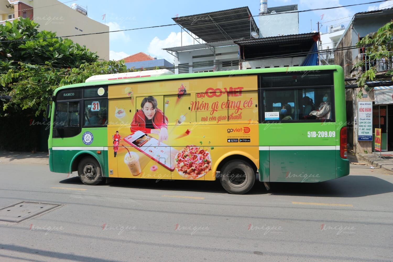 công ty quảng cáo trên xe buýt