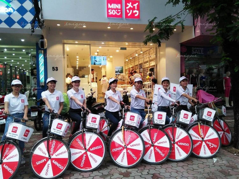 Roadshow xe đạp của Miniso