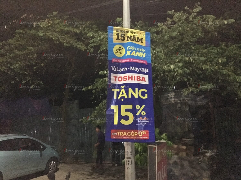 thế giới di động quảng cáo banner