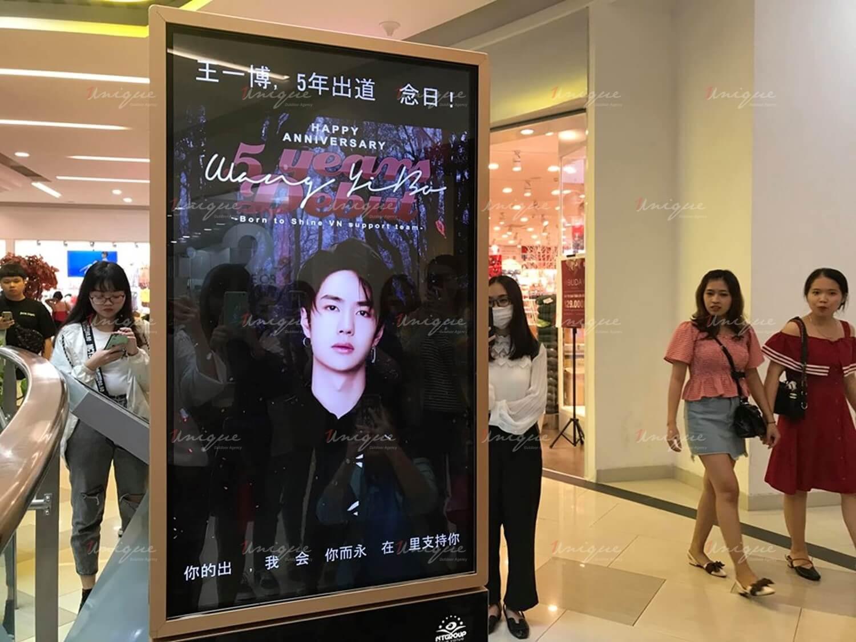Vương Nhất Bác quảng cáo màn hình Lcd