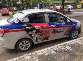 Quảng cáo trên taxi cho Koreno Volcano